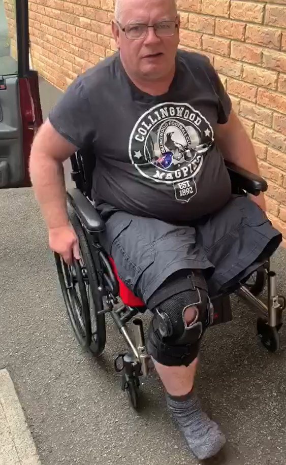 Tim Marks (PDA's Tasmanian Director) reviews his new Wheelchair Pod, SmartDrive and Wheelchair